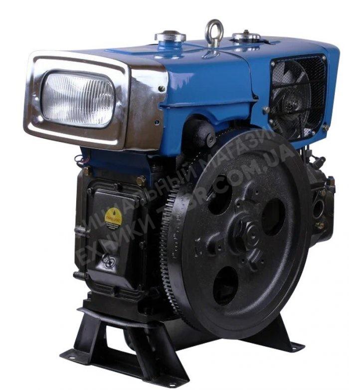 Фото Двигатель Зубр  ZH1100N (дизель, 16.0 л.с., электрозапуск)