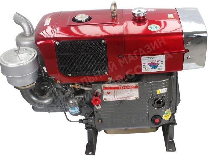 Фото Двигатель Зубр  ZH1105N (дизель, 18.0 л.с., электрозапуск)