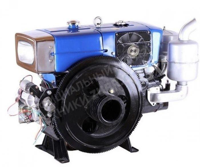 Фото Двигатель Зубр  ZH1115N (дизель, 24.0 л.с.,  электрозапуск)