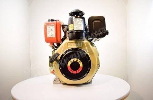 Фото 3 Двигатель Зубр 178F (дизель, 6.0 л.с., вал 25 мм., шлиц)