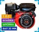 Фото 1 Двигатель Зубр 170F-2 (бензин, 7.0 л.с., вал 20 мм, шпонка)