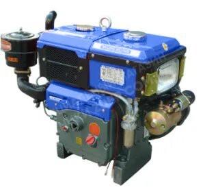 Фото 2 Двигатель Зубр R195NM (дизель, 12.0 л.с., электрозапуск)