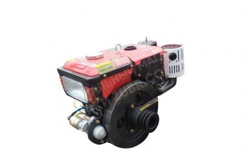 Фото 4 Двигатель Зубр R195NM (дизель, 12.0 л.с., электрозапуск)