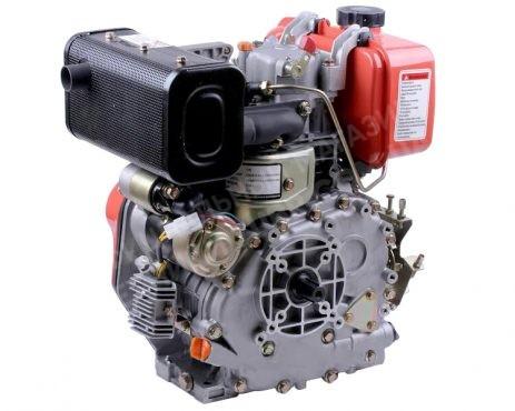 Фото 1 Двигатель Зубр 178FE (дизель, 6.0 л.с., вал 25мм, шлиц, электрозапуск)