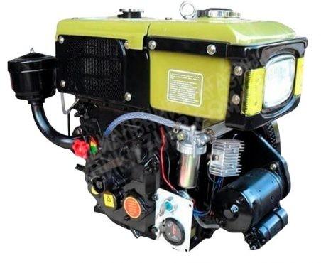 Фото 2 Двигатель Зубр R180NM (дизель, 8.0 л.с., электрозапуск)