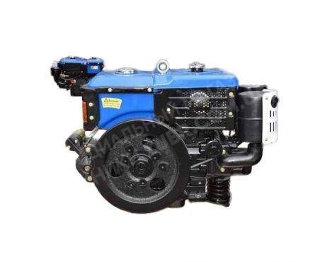 Фото 3 Двигатель Зубр R195NM (дизель, 12.0 л.с., электрозапуск)