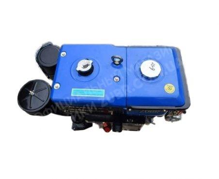 Фото 5 Двигатель Зубр R195NM (дизель, 12.0 л.с., электрозапуск)