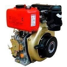 Фото Двигатель Зубр 178F (дизель, 6.0 л.с., вал 25мм, шлиц)