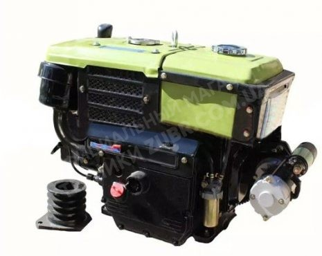 Фото 2 Двигатель Зубр R190NM (дизель, 10.0 л.с., электрозапуск)