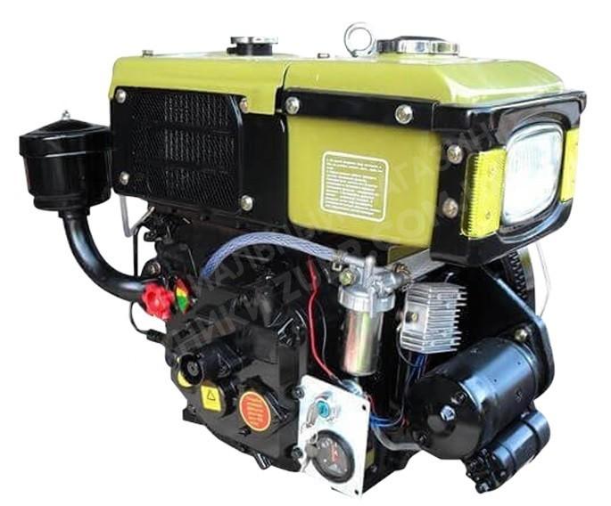 Фото Двигатель Зубр R180NM (дизель, 8.0лс,электрозапуск)