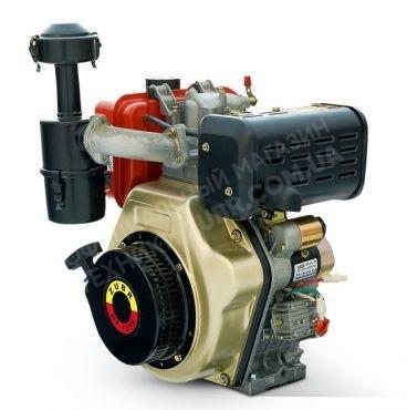 Фото 1 Двигатель Зубр 186FE (дизель, 9.0 л.с., вал 25 мм., шлиц)