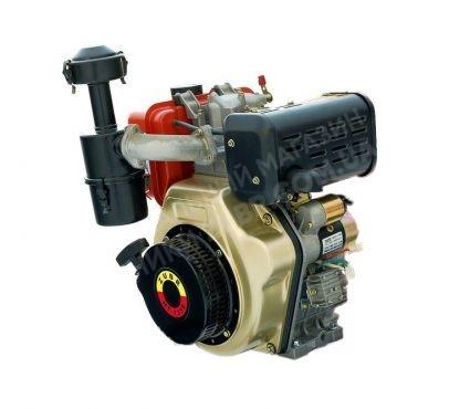 Фото 2 Двигатель Зубр 186FE (дизель, 9.0 л.с., вал 25 мм., шлиц)
