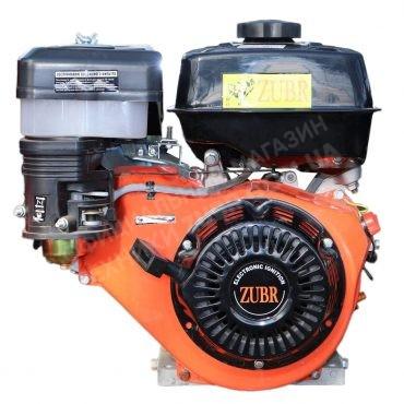 Фото 1 Двигатель Зубр 177F (бензин, 9.0 л.с., вал 25 мм., шлиц)